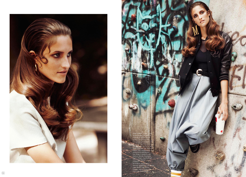 74 Magazine, Concept & Production by Dominik Schatz, Hair & Make up by Ben Mayer, Detlef Schneider Photography