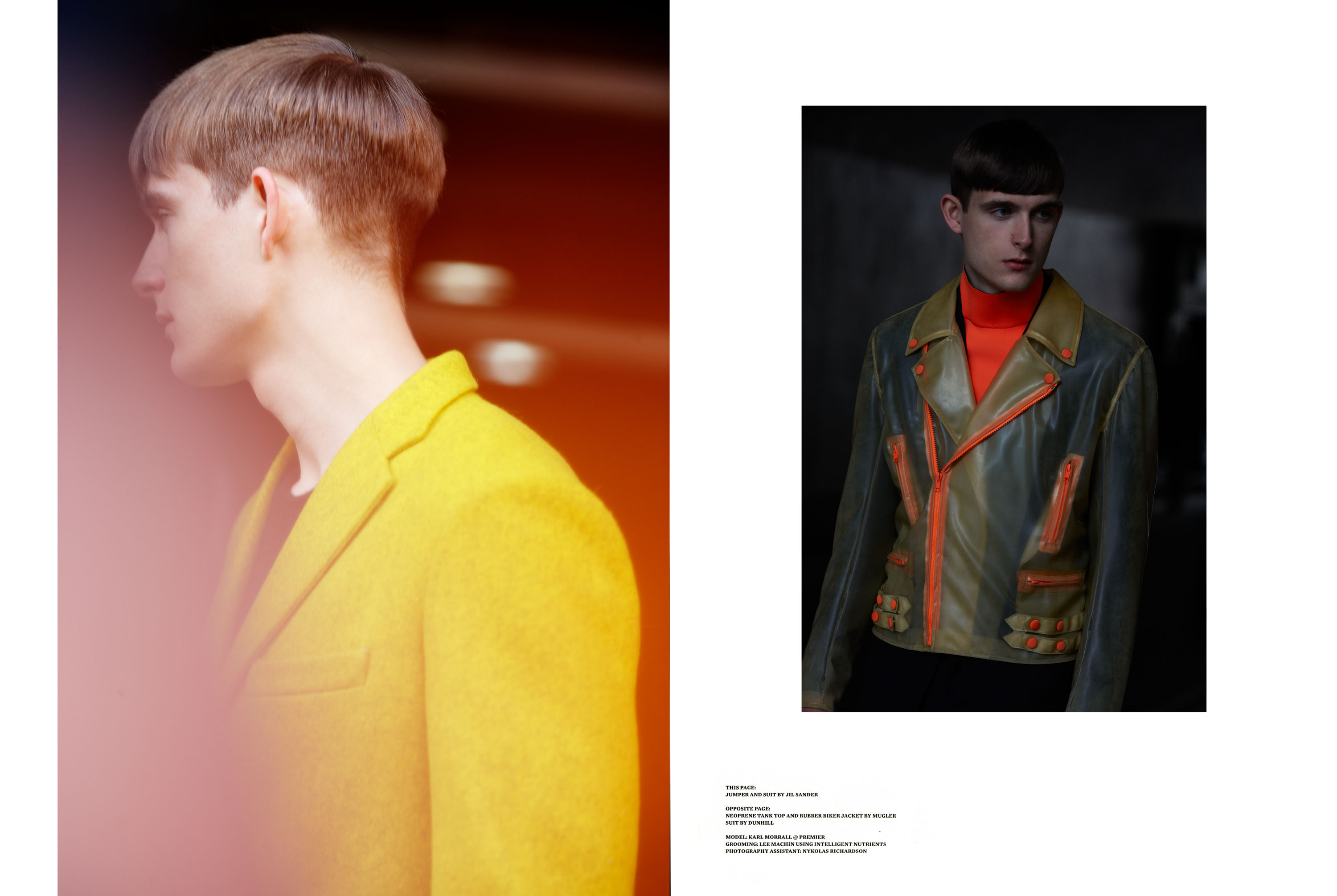 Glad You Came, CLASH Magazine, Styling Max Clark ,  Model Karl Morrall, Fashion Editorial, Detlef Schneider Photography