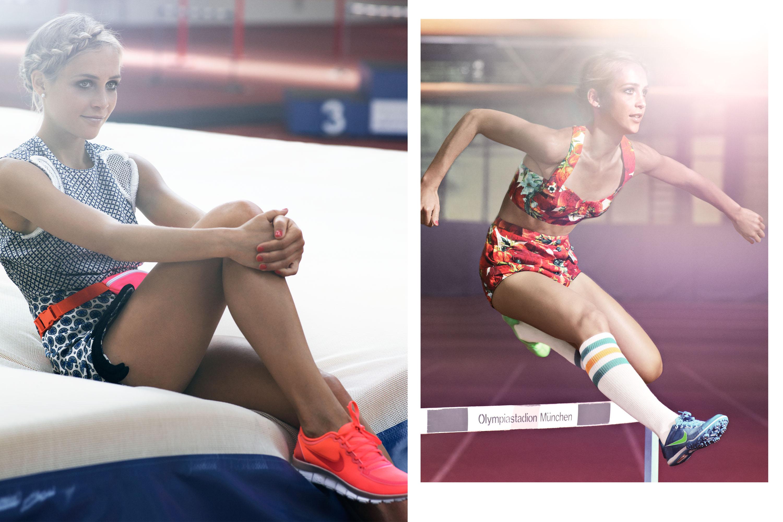 Myself Olympics, Sport, NIKE Germany, Detlef Schneider Photography, Jana Sussmann
