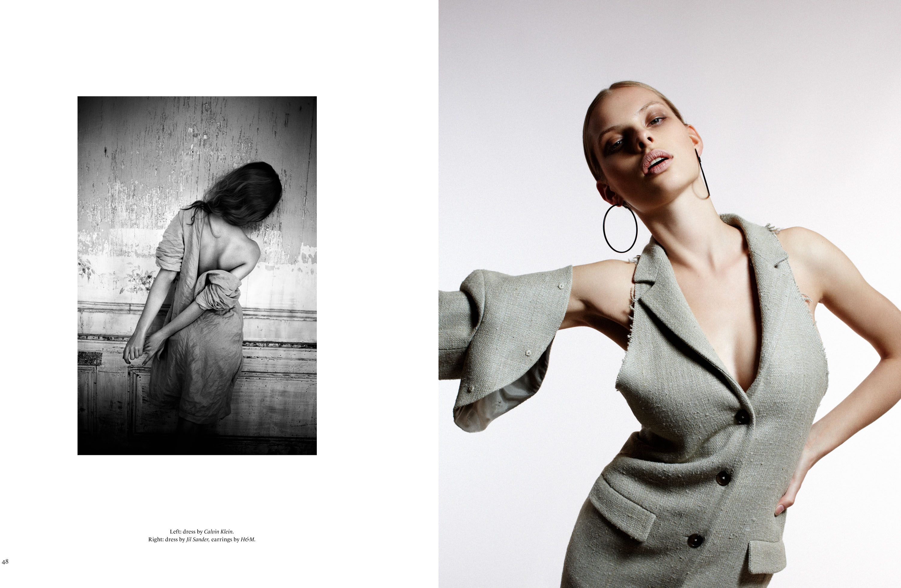 Sleek Magazine, Styling Julia Freitag, Model Dioni Tabbers, Hair & Make-up Stelli, Graphic Edition Florencia Serrot, Detlef Schneider Photography