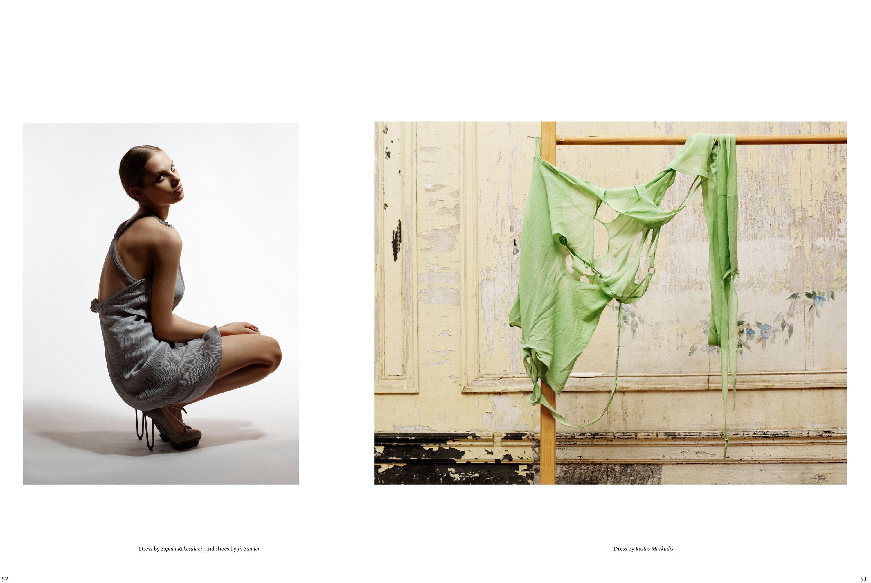 Sleek Magazine, Styling Julia Freitag, Model Dioni Tabbers, Hair & Make-up Stelli, Graphic Edition Florencia Serrot, Detlef Schneider Photography