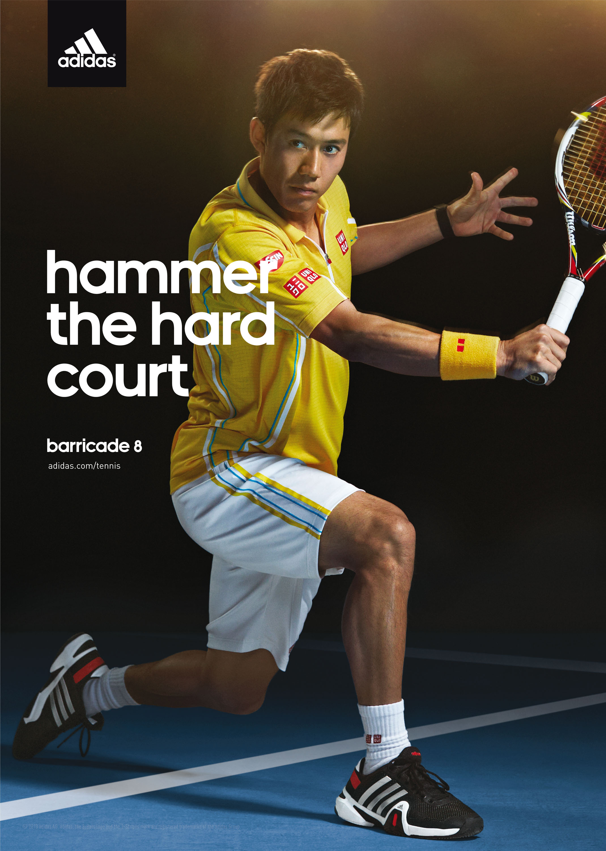 Detlef Schneider Photography,  Kei Nishikori, Adidas, Tennis