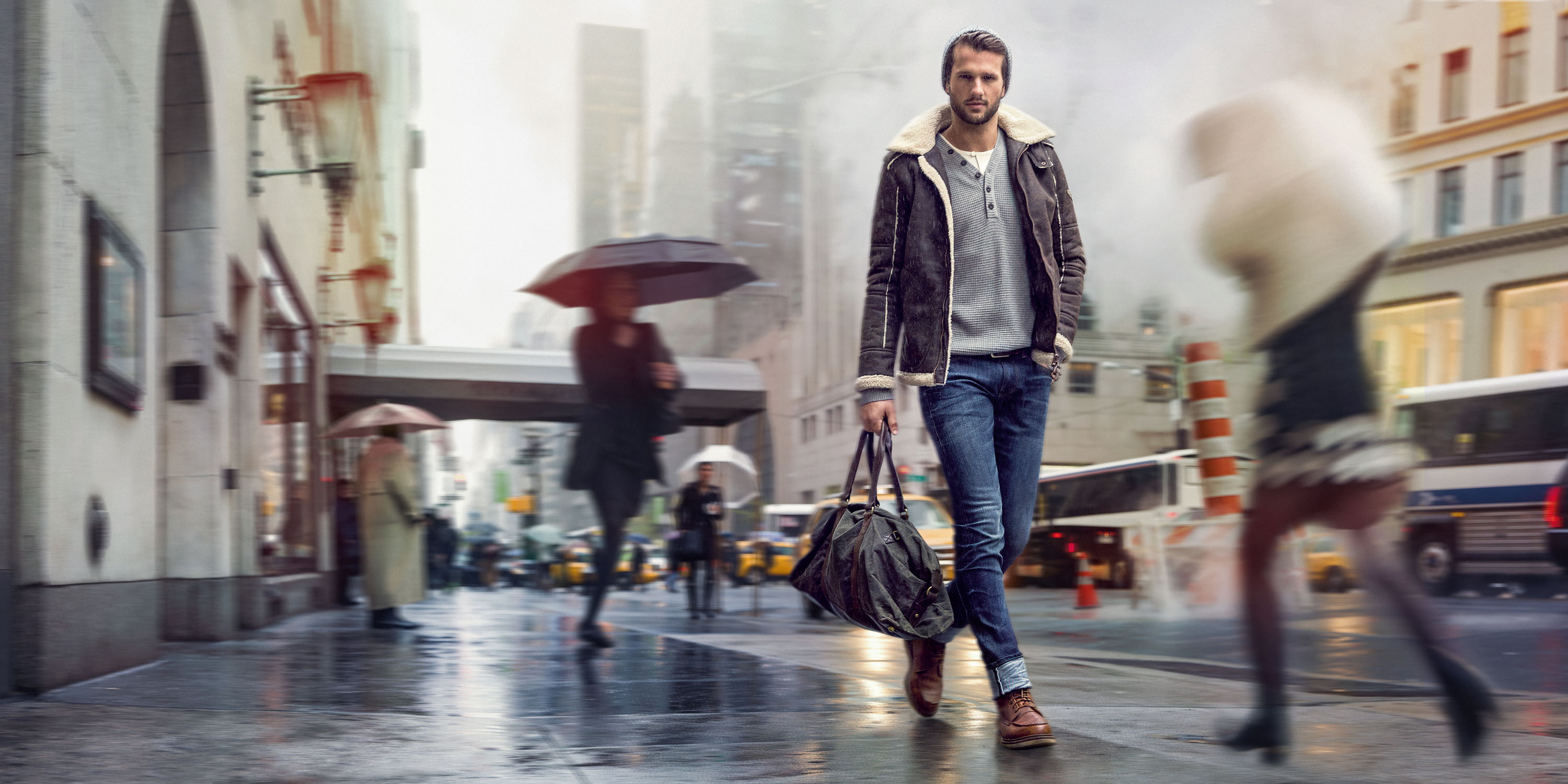 Detlef Schneider photography, Tom Tailor Campaign Fall Winter 2014, New York, Styling Ingo Nahwold