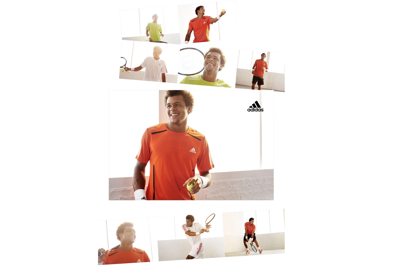 Tennis, Detlef Schneider Photography, Jo-Wilfried Tsonga, Adidas