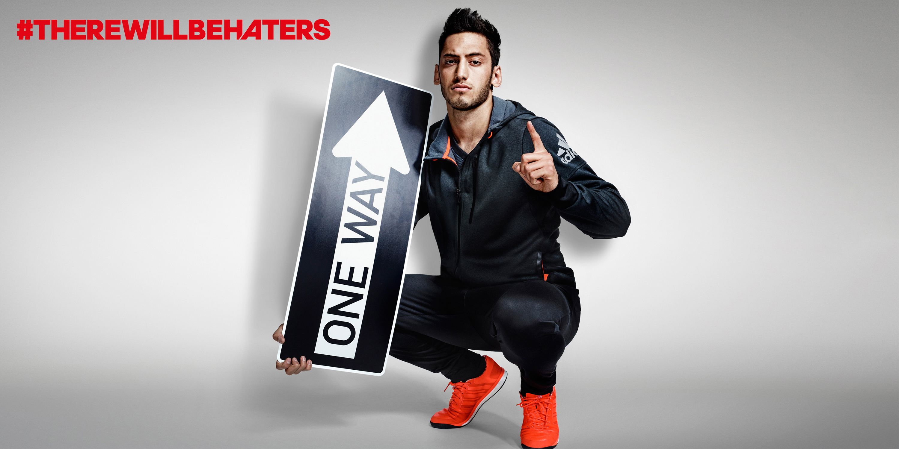 #There will be Haters Campaign, football,Hakan Çalhanoğlu , Detlef Schneider Photography