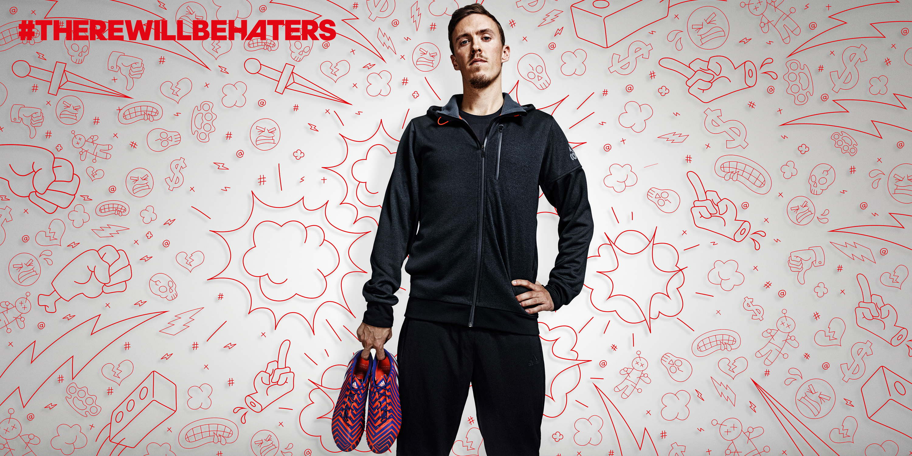 #There will be Haters Campaign, football, Thomas Müller, Detlef Schneider Photography