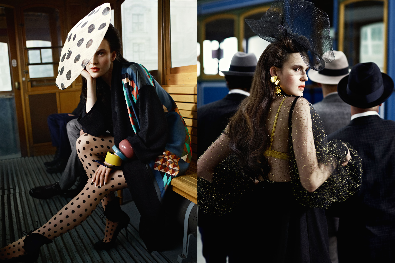 Myself Magazine, Detlef Schneider Photography, Fashion Editor Britta Mccay, Hair&Make-up Christian Fritzenwanker, Model Katharina Friedrich