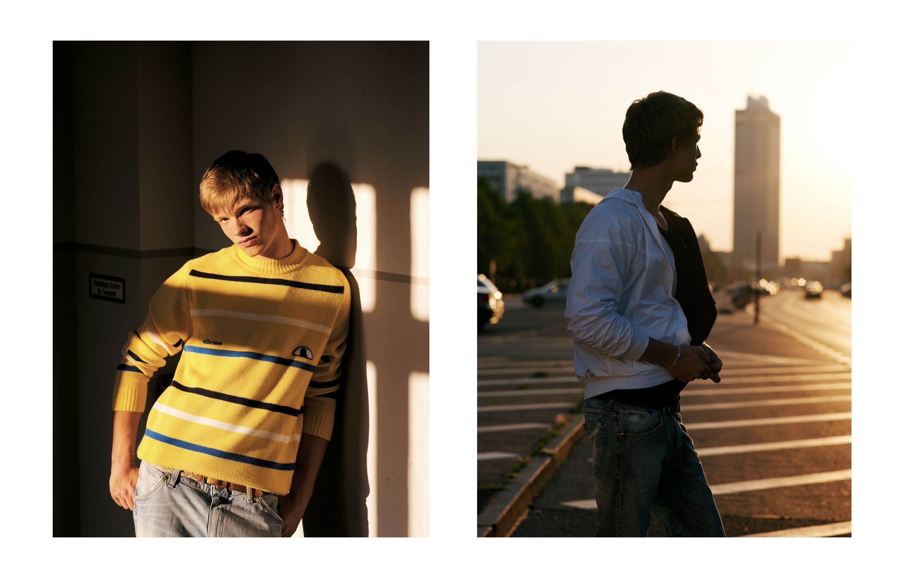 Sleek, Bread & Butter magazine, Fashion Editorial, Detlef Schneider Photography, male model, Fashion, Streetstyle