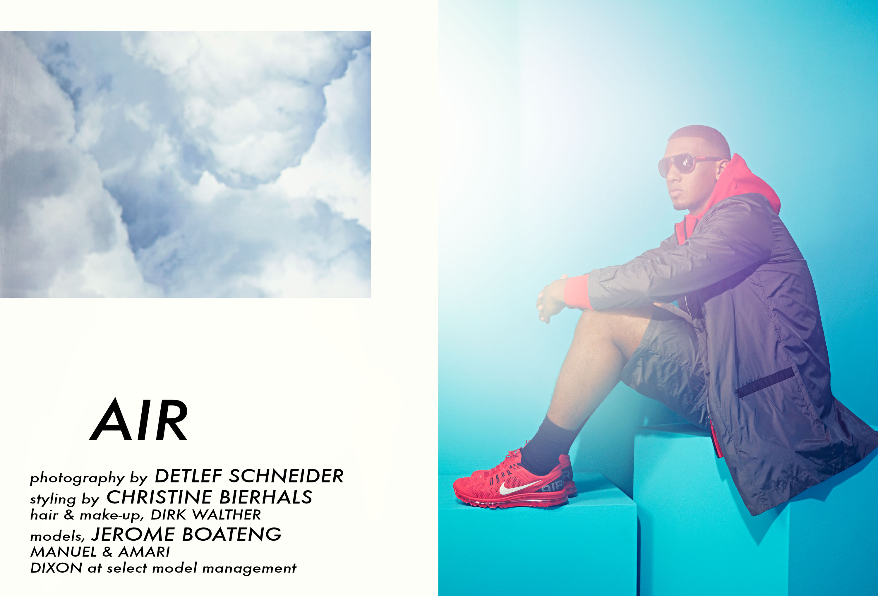 QVEST Magazine, Air Supreme, Detlef Schneider Photography, Jerome Boateng, Nike, Nike Air Max,