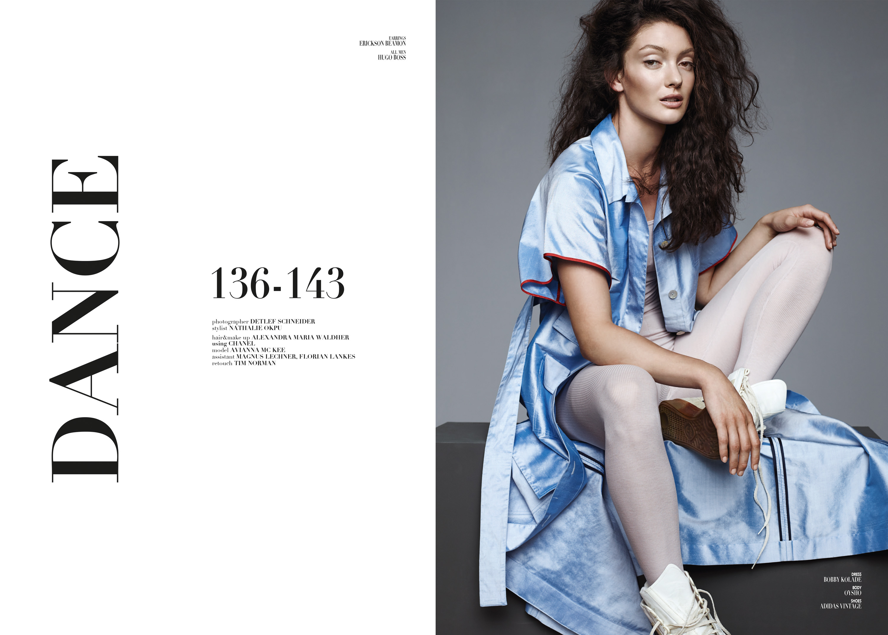 Detlef Schneider Photography, Le Mile Magazine, Nathalie Opku Styling, Model Avianna McKee