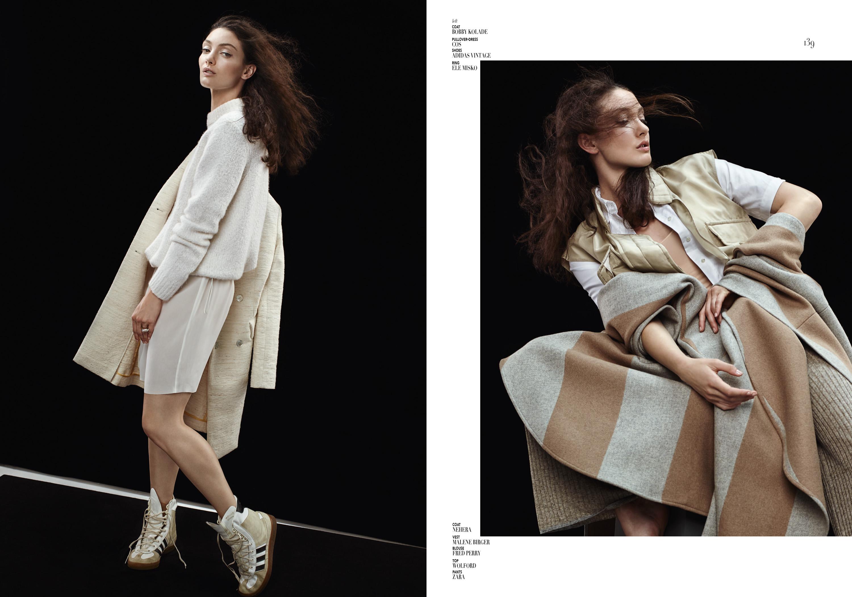 Detlef Schneider Photography, Le Mile Magazine, Nathalie Opku Styling, Model Avianna McKee