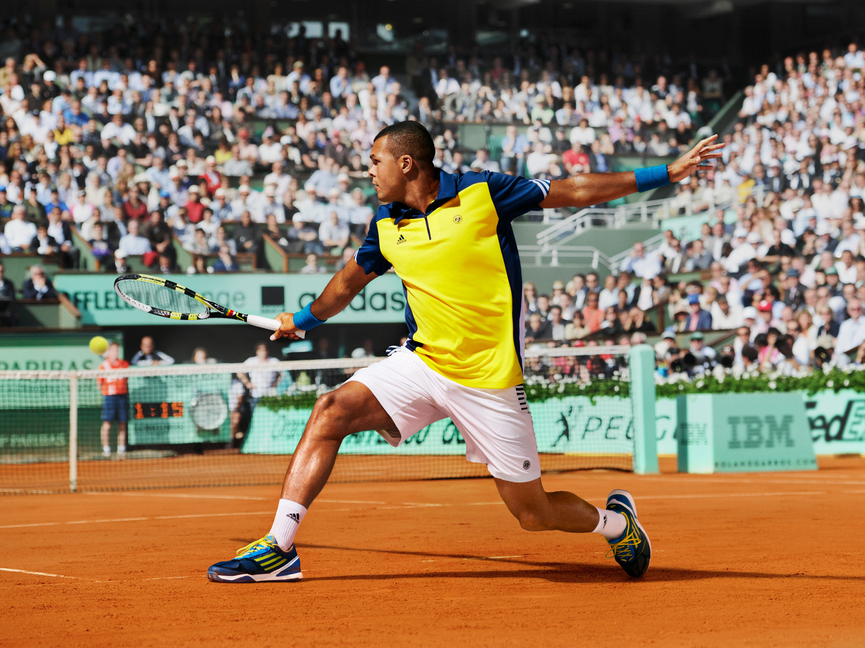 Detlef Schneider Photography, Jo-Wilfried Tsonga, Adidas, Tennis, Roland Garros