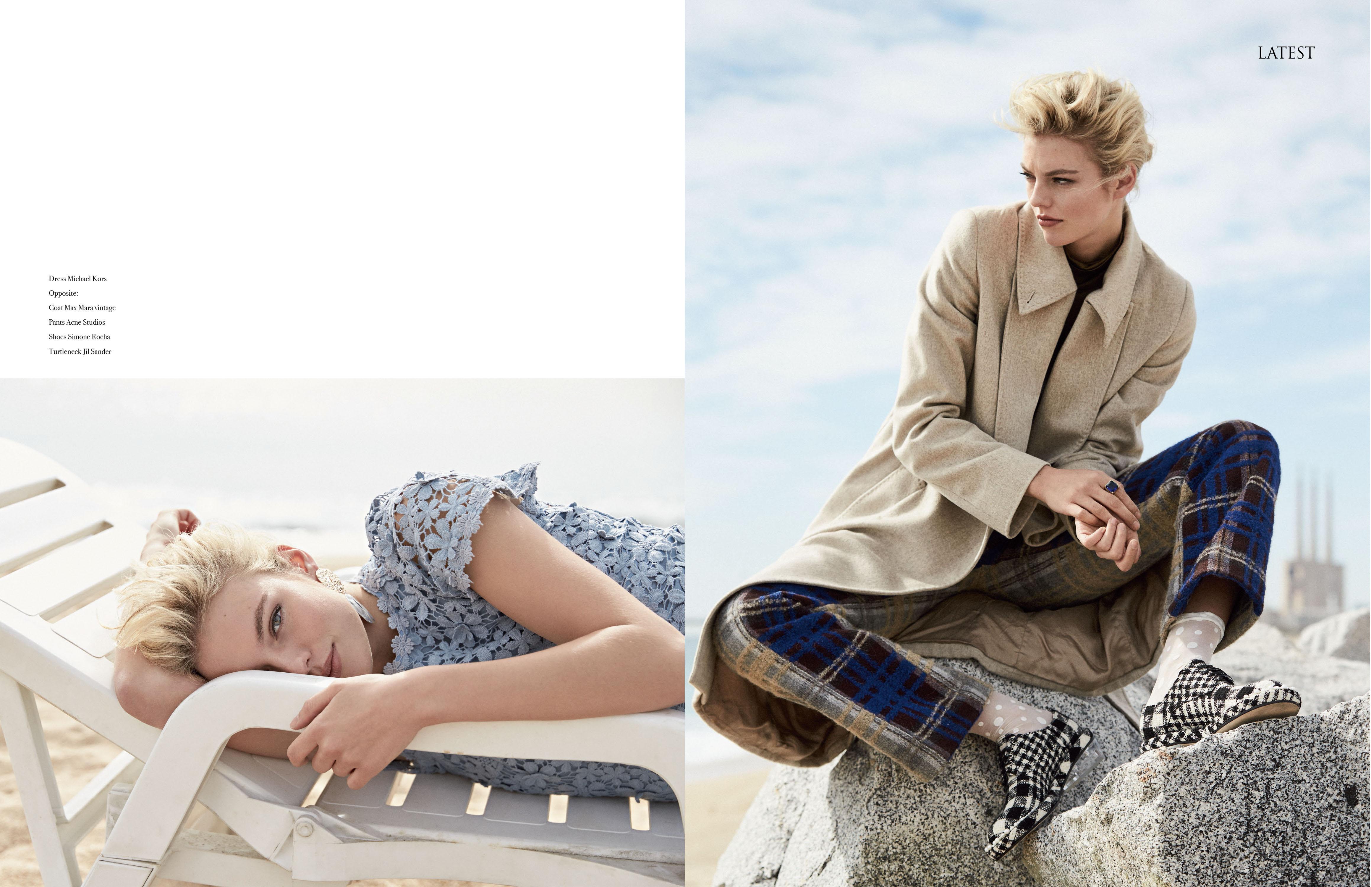 detlef schneider photography, fashion editorial, sepia beach, barcelona