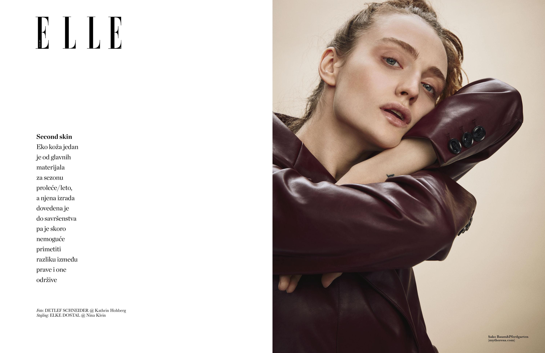 Elle Serbia, Photography Detlef Schneider, Styling Elke Dostal, Fashion Photography, Model Adel Iudina
